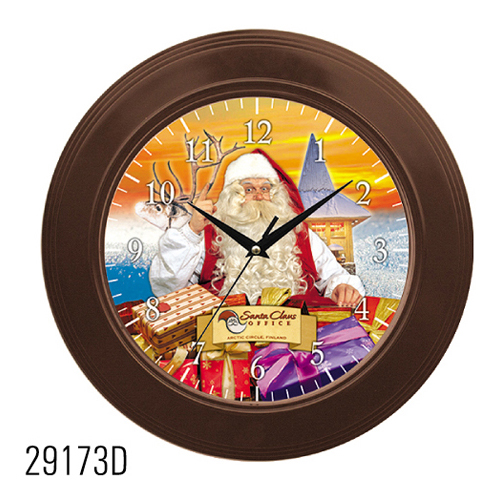 Christmas sound clock wall